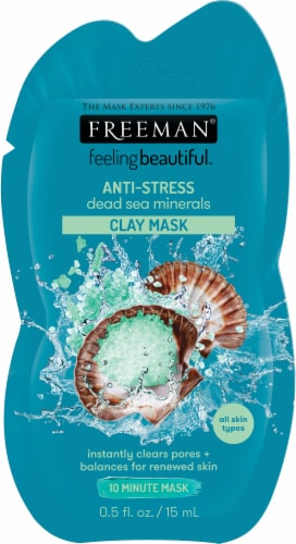 Freeman Anti-Stress Dead Sea Minerals Clay Mask Perspective: front