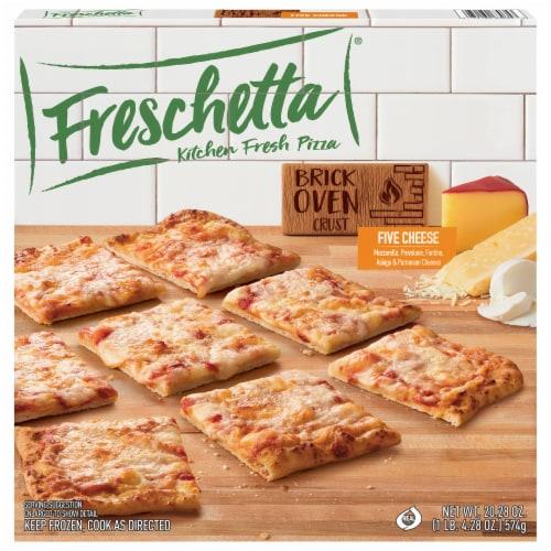 Freschetta Five Cheese Brick Oven Crust Pizza Perspective: front
