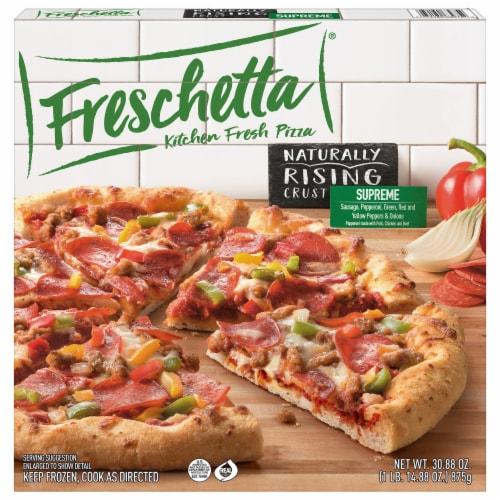 Freschetta Naturally Rising Crust Supreme Pizza Perspective: front
