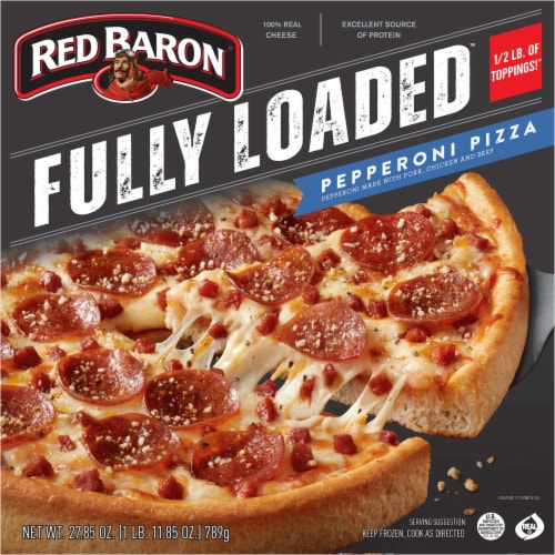 Red Baron® Fully Loaded Pepperoni Pizza Perspective: front