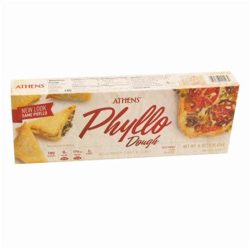 Athens Phyllo Dough Pastry Sheets Perspective: front