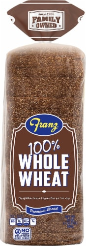 Franz® 100% Whole Wheat Bread Perspective: front