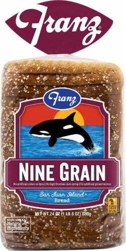 Franz® San Juan Island Nine Grain Bread Perspective: front