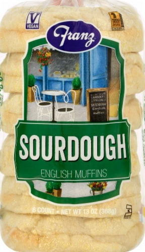 Franz® Sourdough English Muffins Perspective: front