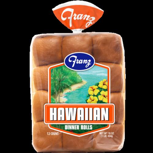 Franz Hawaiian Dinner Rolls Perspective: front
