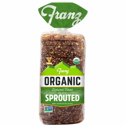 Franz® Organic The Great Sprouted Bread Perspective: front