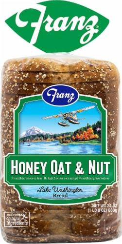Franz® Lake Washington Honey Oat & Nut Bread Perspective: front