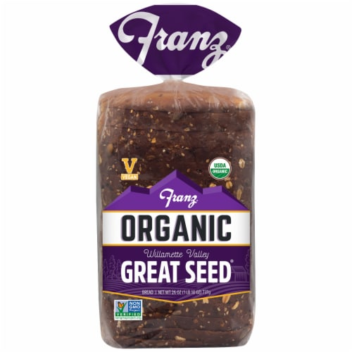 Franz Organic Great Seed Bread Perspective: front