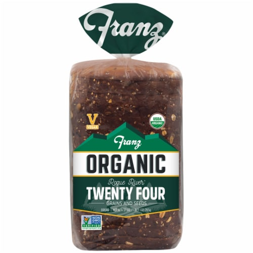 Franz® Organic Rogue River Twenty Four Grains and Seeds Bread Perspective: front