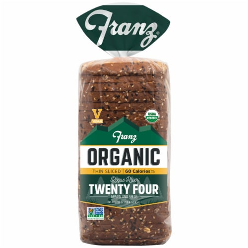 Franz Rogue River Organic Twenty-Four Thin Sliced Bread Perspective: front