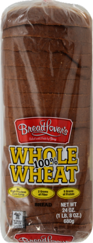 Bread Lover's™ 100% Whole Wheat Bread Perspective: front
