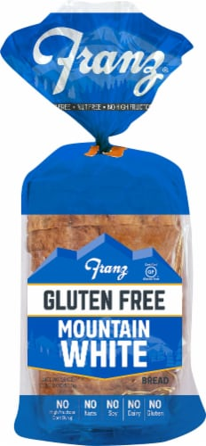 Franz Gluten Free Mountain White Bread Perspective: front