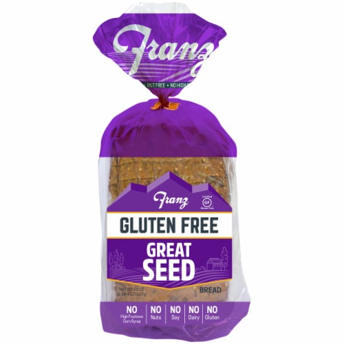 Franz Gluten Free Great Seed Bread Perspective: front
