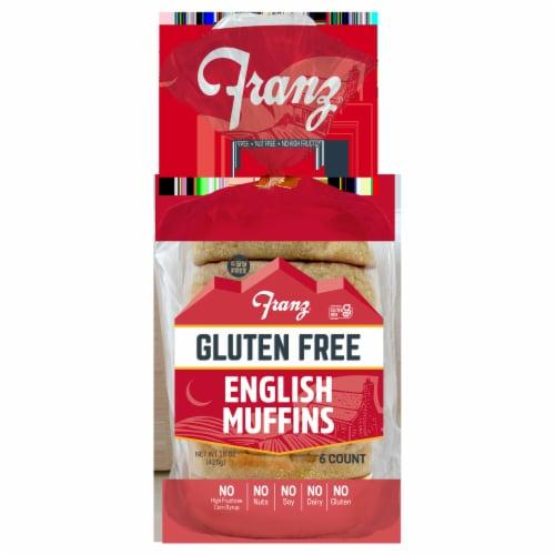 Franz Gluten Free English Muffins Perspective: front