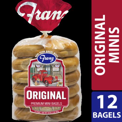 Franz Original Premium Mini Bagels Perspective: front