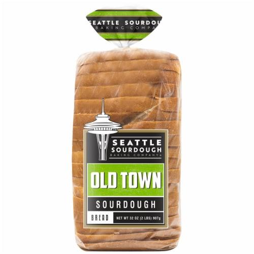 Seattle Sourdough Baking Co. Old Town Sourdough Bread Perspective: front