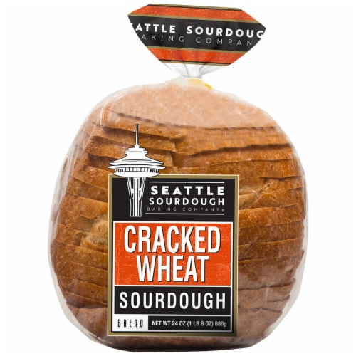 Seattle International Cracked Wheat Sourdough Bread Perspective: front
