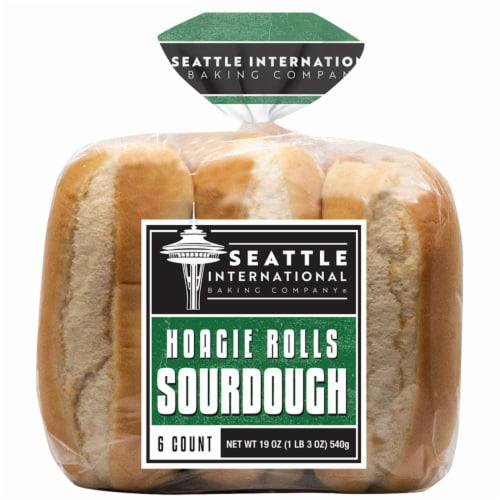Seattle International Baking Company Sourdough Hoagie Rolls Perspective: front