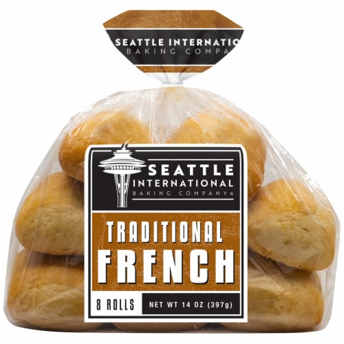 Seattle International Baking Company Traditional French Rolls Perspective: front