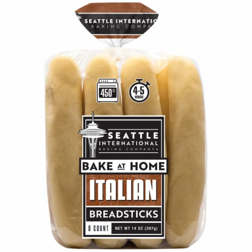 Qfc Seattle International Baking Company Italian Breadsticks 8 Ct 14 Oz