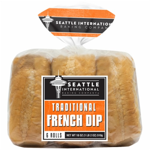 Seattle International Baking Company Solid Rolls Perspective: front