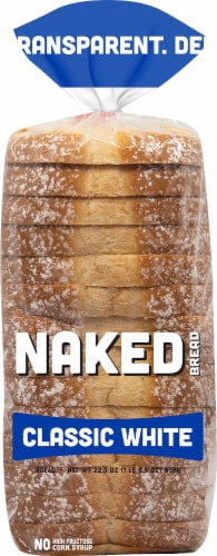 Naked Classic White Bread Perspective: front