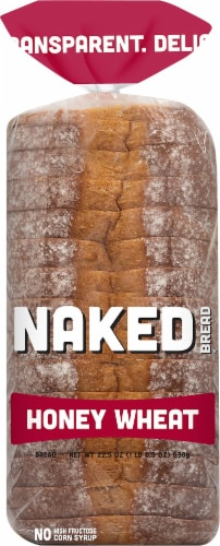 Naked Honey Wheat Bread Perspective: front