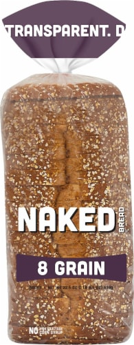 Naked Bread 8 Grain Sandwich Bread Perspective: front
