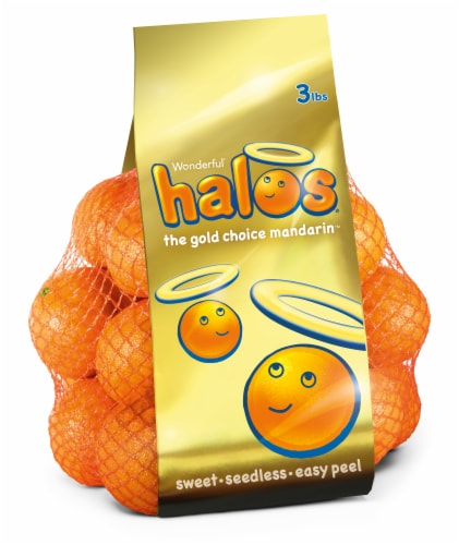 Wonderful Halos Golden Goodness Bag Perspective: front