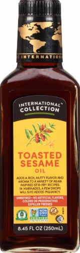 International Collection Toasted Sesame Oil Perspective: front