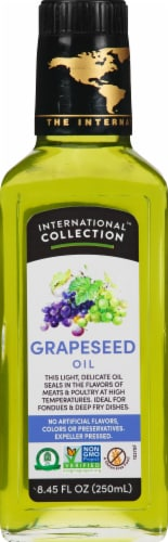 International Collection Grapeseed Oil Perspective: front