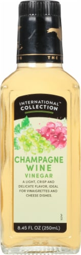 International Collection Champagne Vinegar Perspective: front