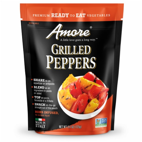 Amore Grilled Peppers Perspective: front