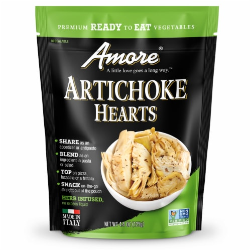 Amore Artichoke Hearts Perspective: front