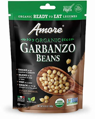 Amore Organic Garbanzo Beans Perspective: front