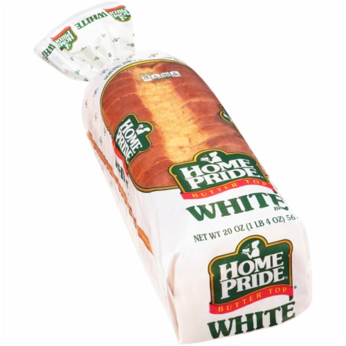 Home Pride® Butter Top White Bread Perspective: front