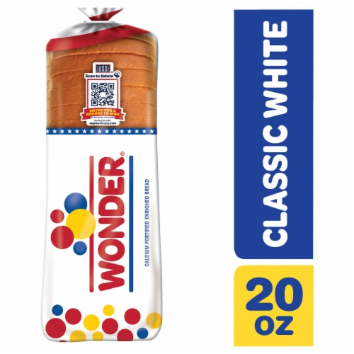 Wonder Classic White Sliced Bread Perspective: front