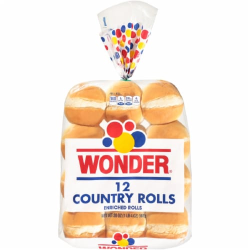 Wonder Enriched Country Rolls Perspective: front