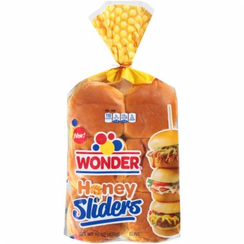 Wonder Honey Slider Buns 12 Count Perspective: front