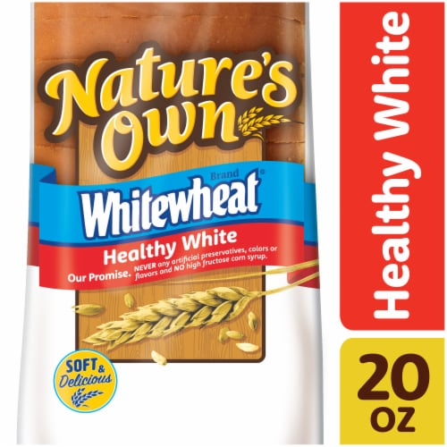 Nature's Own Roundtop Whitewheat Bread Perspective: front