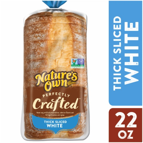 Nature's Own Perfectly Crafted White Bread Perspective: front