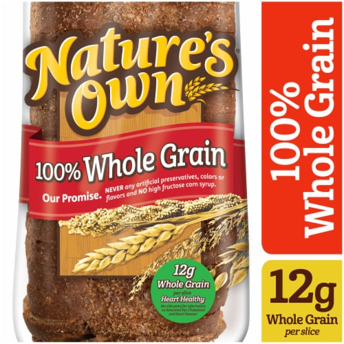 Nature's Own 100% Whole Grain Bread Perspective: front