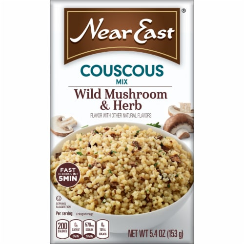 Near East Wild Mushroom & Herb Couscous Mix Perspective: front