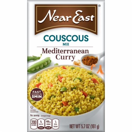 Near East Mediterranean Curry Couscous Mix Perspective: front