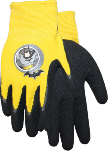 Midwest Quality Gloves Batman Kids' Gripping Gloves Perspective: front