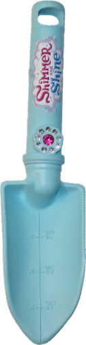 Midwest Quality Gloves Shimmer and Shine Kids' Trowel - Blue Perspective: front