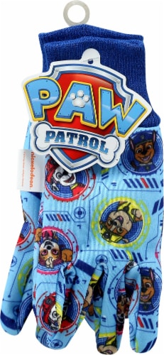 Midwest Quality Gloves PAW Patrol Kids' Jersey Gloves - Blue Perspective: front