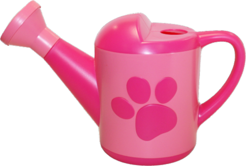 Midwest Quality Gloves PAW Patrol Kids' Plastic Watering Can - Pink Perspective: front