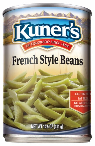 Kuner's Premium Sliced French Style Beans Perspective: front