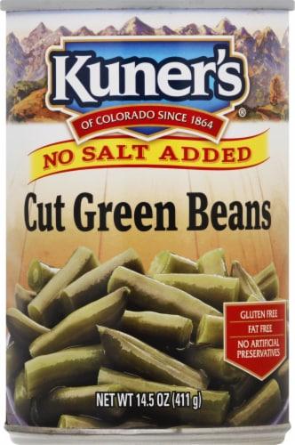 Kuner's Cut Green Beans - No Salt Added Perspective: front
